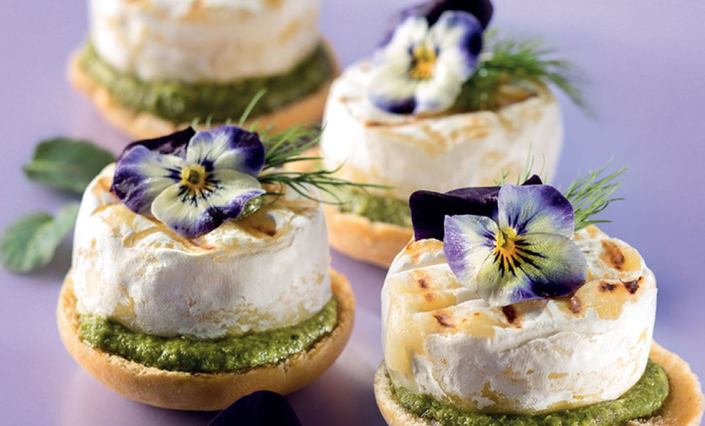 Mini Tomini and Genoese Pesto Small Cup